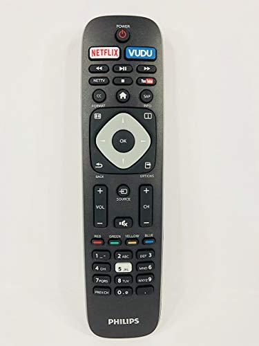 Genuine Philips NH500UP 4K UHD Smart TV Remote Control (Renewed) (Remote Philips)