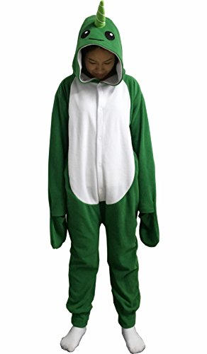 Costume Flying Monkey Infant (Foresightrade Adults and Children Animal Narwhal Multi-color Cosplay Costume Pajamas Onesies Sleepwear (XL fit for Height 175-185CM (68.8