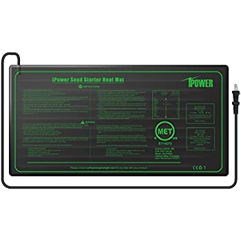 iPower GLHTMTS Durable Waterproof Seedling Heat Mat 10