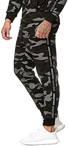 男性の秋と冬の新しいファッションカジュアルステッチフィートカジュアルスポーツパンツ