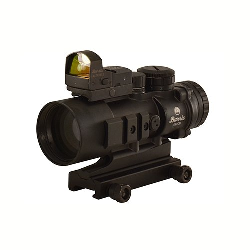 Burris 300178 AR Prism Sight Ballistic Cq Reticle with Free Fastfire III Reflex Red Dot Sight, AR-536, 5x36mm, 3 MOA with Picatinny Mount, Matte Black (Best Optic Scar 17)