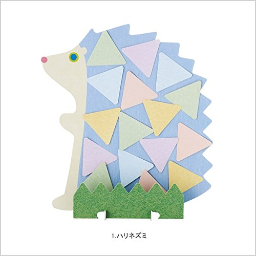 colored paper Marks gimmick colored paper Animal hedgehog SKS-PBD2-BL
