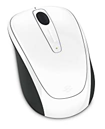 Microsoft Wireless Mobile Mouse 3500 Limited Edition - White Gloss