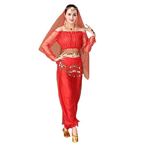 Maylong Womens Polka Dot Harem Belly Dance Halloween Costume Carnival DW59 -