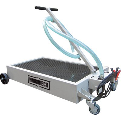 Roughneck Oil Drain Dolly With Pump 15 Gal Capacity 12