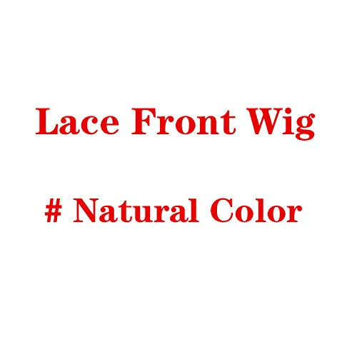 (Glueless Lace Front Human Hair Wigs Pre Plucked Brazilian Water Wave Lace Front Wig For Black Women Bleached Knot Full End,Natural)