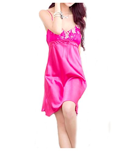Ru Sweet Women's to Have and to Hold Satin Charmeuse Chemise and Thong ()