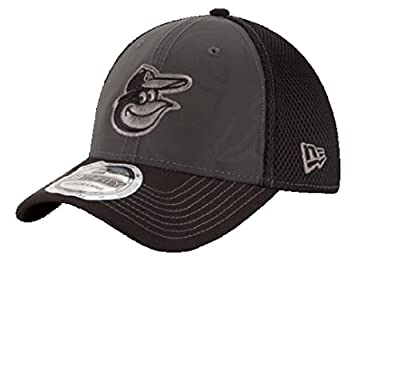 New Era Baltimore Orioles Grey/Black Shadow Reflect Stretch Fit Hat 3930