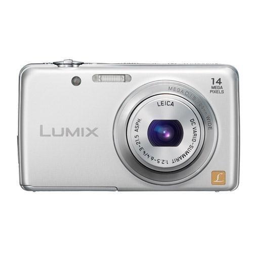 Panasonic Digital Still Camera - Panasonic Lumix FH6 14.1 MP Digital Camera with 5x Optical Zoom (Silver)