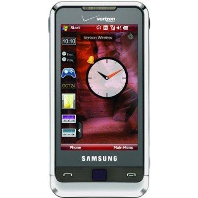 Samsung Omnia i910 Phone, Silver (Verizon Wireless) Touchscreen Cell Phone