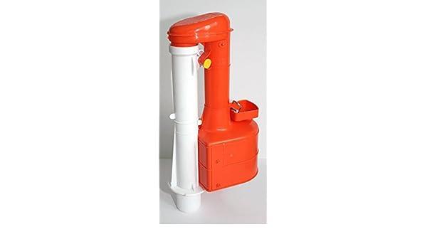 Dudley Turbo 44 21,59 cm descargador aprobado por el WRAS para cisternas estrecha: Amazon.es: Hogar