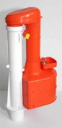 Dudley Turbo 44 21,59 cm descargador aprobado por el WRAS para cisternas estrecha