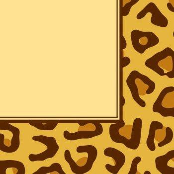 Creative Converting Animal Print Leopard Luncheon Napkins, 16 -