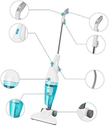 Aspirateur balai Aspirateur à main légère avec un nettoyage en profondeur puissant multifonction Mini Tapis Aspirateur Sourdine haute puissance