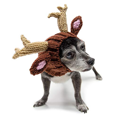 Zoo Snoods Reindeer Dog Costume - Neck and