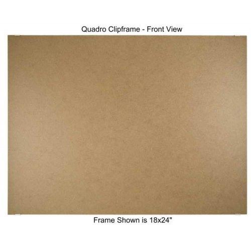 Quadro Clip Frame 18x24 inch Borderless Frame by Quadro Frames