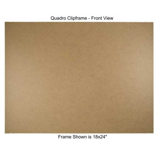 Quadro Clip Frame 24x36 inch Borderless Frame, Box of 2
