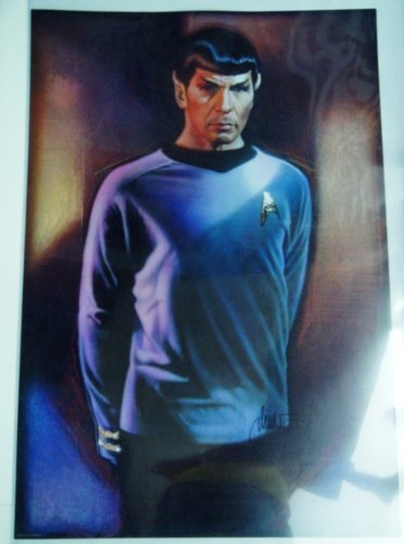 Star Trek Special Original Theater Series Poster of Spock Leonard Nimoy 27 x 40 inches from Star Trek