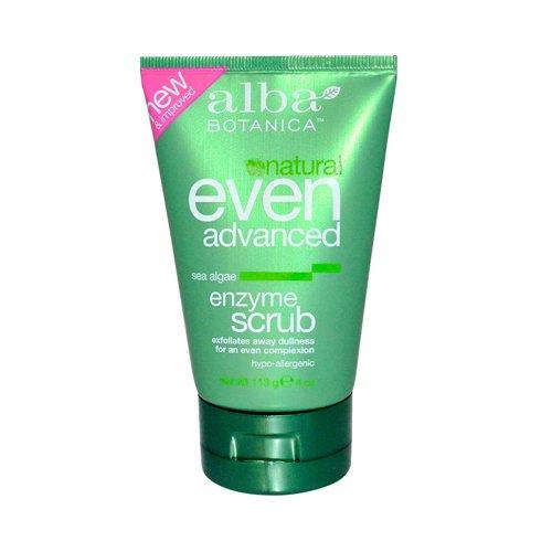 Alba Botanica mer Enzyme Facial Scrub 4 oz