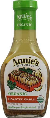 Annie's Naturals Organic Dressing Roasted Garlic Vinaigrette -- 8 fl oz - 2 pc