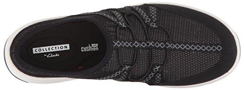 Clarks Damen Darleigh Myra Sneaker Schwarz Mesh Textil