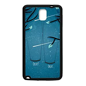 Meteor swing romantic scenery Cell Phone Case for Samsung Galaxy Note3