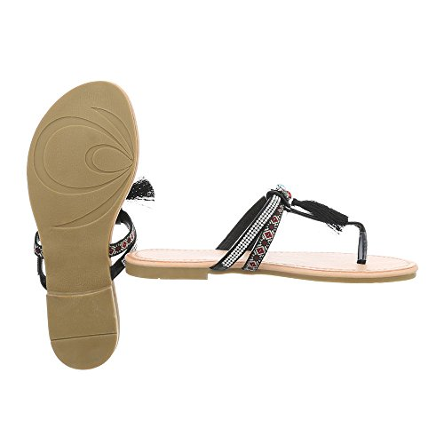 Design Chaussures Tongs Plat FitFlop Pm200 Sandales Femme Havaianas Ital Noir Fdx71pFR
