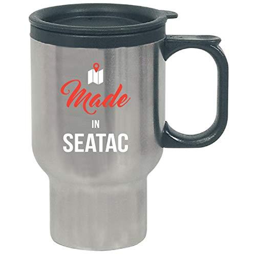 Made In Seatac City Funny Gift - Travel Mug