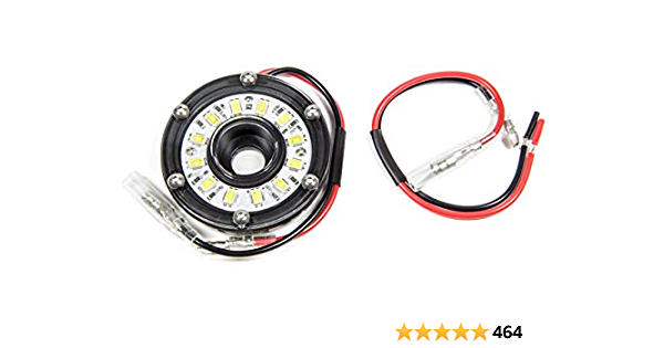 """Clear KC HiLiTES 1350 Cyclone LED 5W 2.2/"""" Multi-functional Accessory Light"""