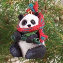 Amazon.com: Panda Bear Ornament: Home & Kitchen