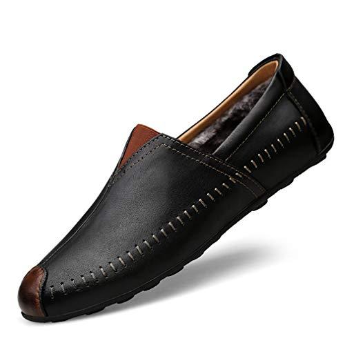 de Conducción Ons Paseo Slip 2018 Primavera Zapatos Zapatos Hombre de Zapatos de de Re de Mocasines y YAN Otoño Cuero gwgOpvq6