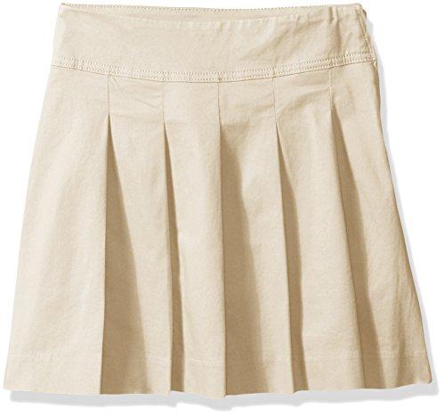 The Children's Place Baby Toddler Girls' Uniform Skort, Biscuit, 4T (Skorts Skirt Uniform)