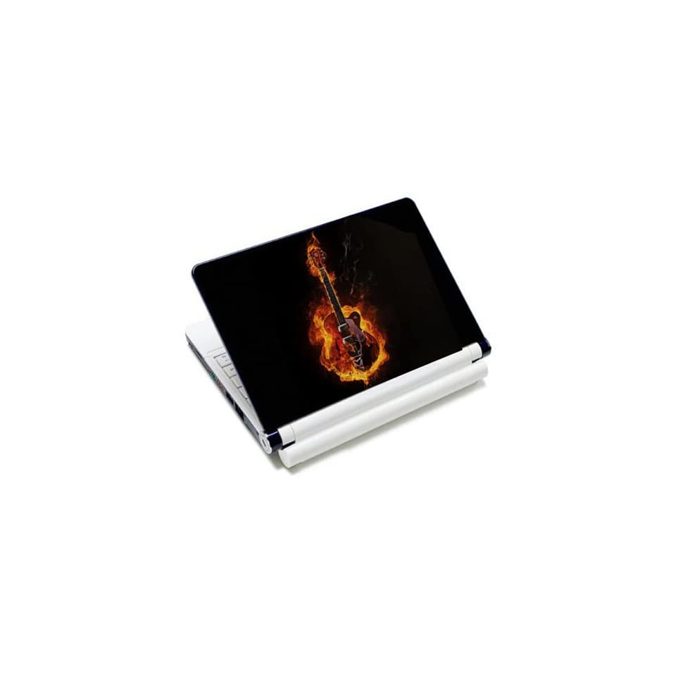Flame Hot Rock Guitar Laptop Protective Skin Cover Sticker Decal Protector   12.1 13.3 14 15.6 16 17.3 Inch For Acer TravelMate Aspire Extensa