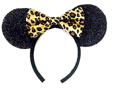 MeeTHan Mickey Mouse Minnie Mouse Ears Tiger Costume