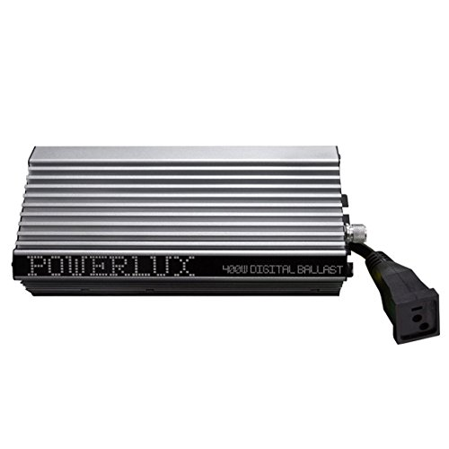 41fntKwAQAL [Enhanced Version 2.0+] VIVOSUN 400 Watt Dimmable Electronic Digital Ballast w/ Enhanced Internal Fan Cooled Operation 25% Less Heat Generated for 15% Longer Service Life ✔