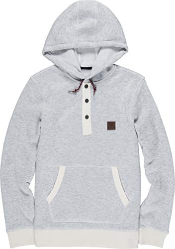Element Men's Highland Henley Hoodie Oatmeal Heather