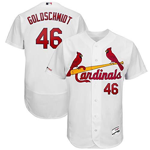 #46 Paul Goldschmidt St. Louis Cardinals Home Collection Flex Base Player Jersey - White L
