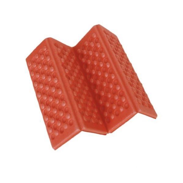 YEAH67886Outdoor portabilità schiuma pieghevole cuscino per sedia da campeggio esterno cuscino (rosso) 2 spesavip
