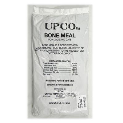 (Bone Meal Powder for Dogs and Cats 3 Pack Total 3 Pounds from Upco Made in USA)