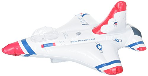 Inflatable Thunderbird Jet (Red/White/Blue) Party (Thunderbird Costumes)