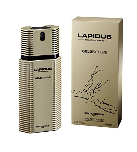 - Ted Lapidus Cologne, Gold Extreme, 3.4 Ounce