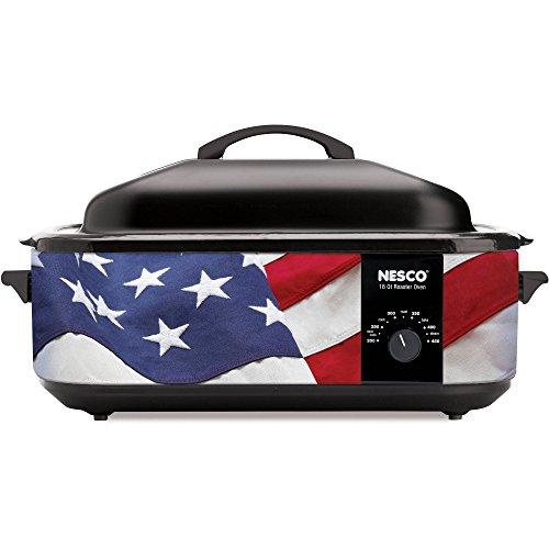 Nesco Designer Series 18 Quart Patriotic Cookwell Roaster Oven (Nesco Roaster Oven Parts compare prices)