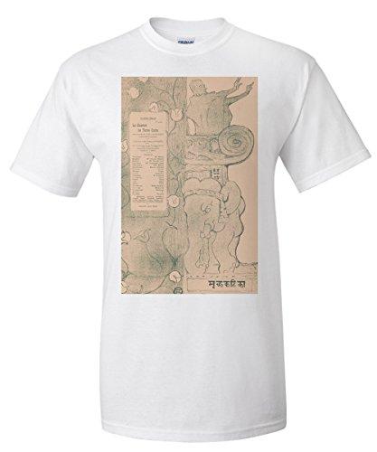 le-chariot-de-terre-cuite-vintage-poster-artist-henri-de-toulouse-lautrec-c-1895-white-t-shirt-xx-la