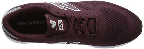 Mrl420v1 burgundy Rosso New Balance Uomo Sneaker 5XqwSnvIwx