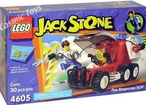 Lego #4605 Jack Stone Fire Response SUV