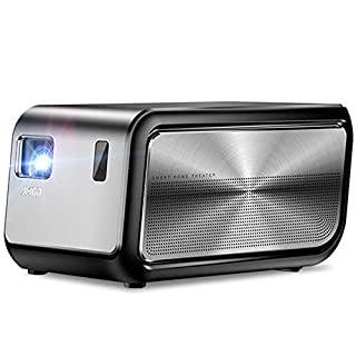 """JMGO J6S Native 1080P Full HD 4K Projector with Android, 1100 ANSI lm, Auto Focus, Keystone Correction,DLP, 3D, WiFi, Bluetooth Speaker, Smart Home Cinema Video Projector, 300"""""""