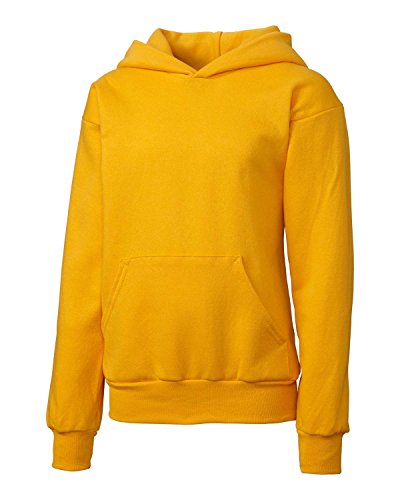 Clique Big Girls Comfortable Fleece Pullover Hoodie, Gold, X-Large by Clique