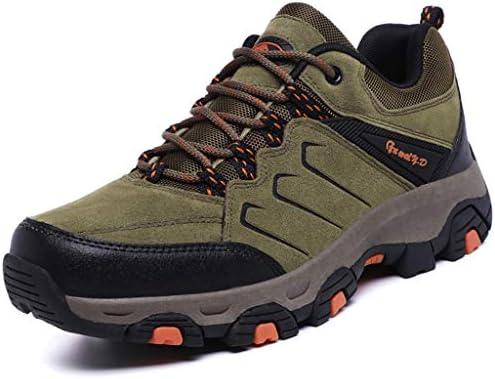 秋と冬のためのクリスマスのための最高の贈り物としてウォーキングトレイルブーツ革防水アンクル高層靴ハイキングブーツをハイキング男性 (Color : Brown, Size : 6.5UK)