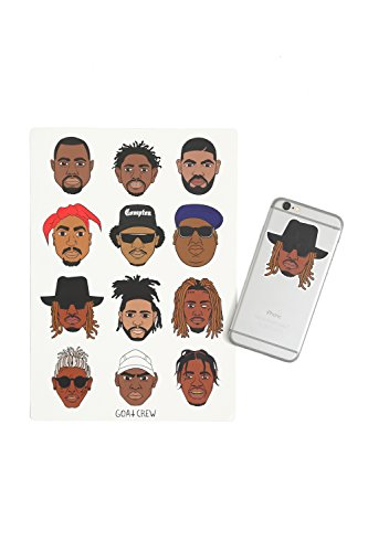 Goat Crew Mini Rapper Head Sticker Pack