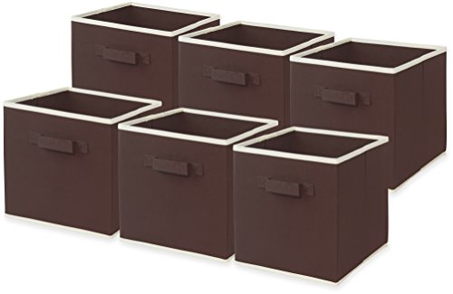 Pack SimpleHouseware Foldable Storage Brown